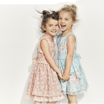 Mila and Emma Stauffer Launch an Adorable New Clothing Line at Target