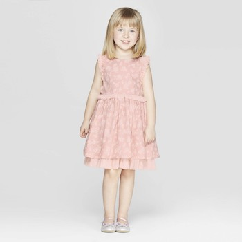 Mila & Emma Clothing Line Mila & Emma Toddler Girls' Sleeveless A-line Dress