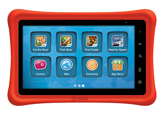 Nabi Tablet Is Meant for Kids, But Parents Will Use it Too [GIVEAWAY!]