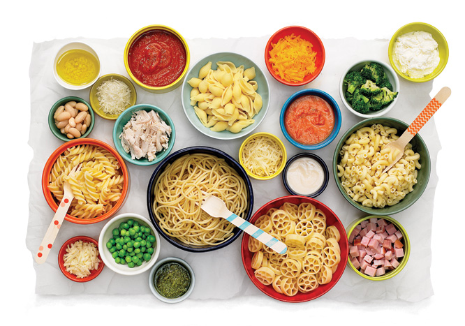 Mix and Match Pasta Recipes