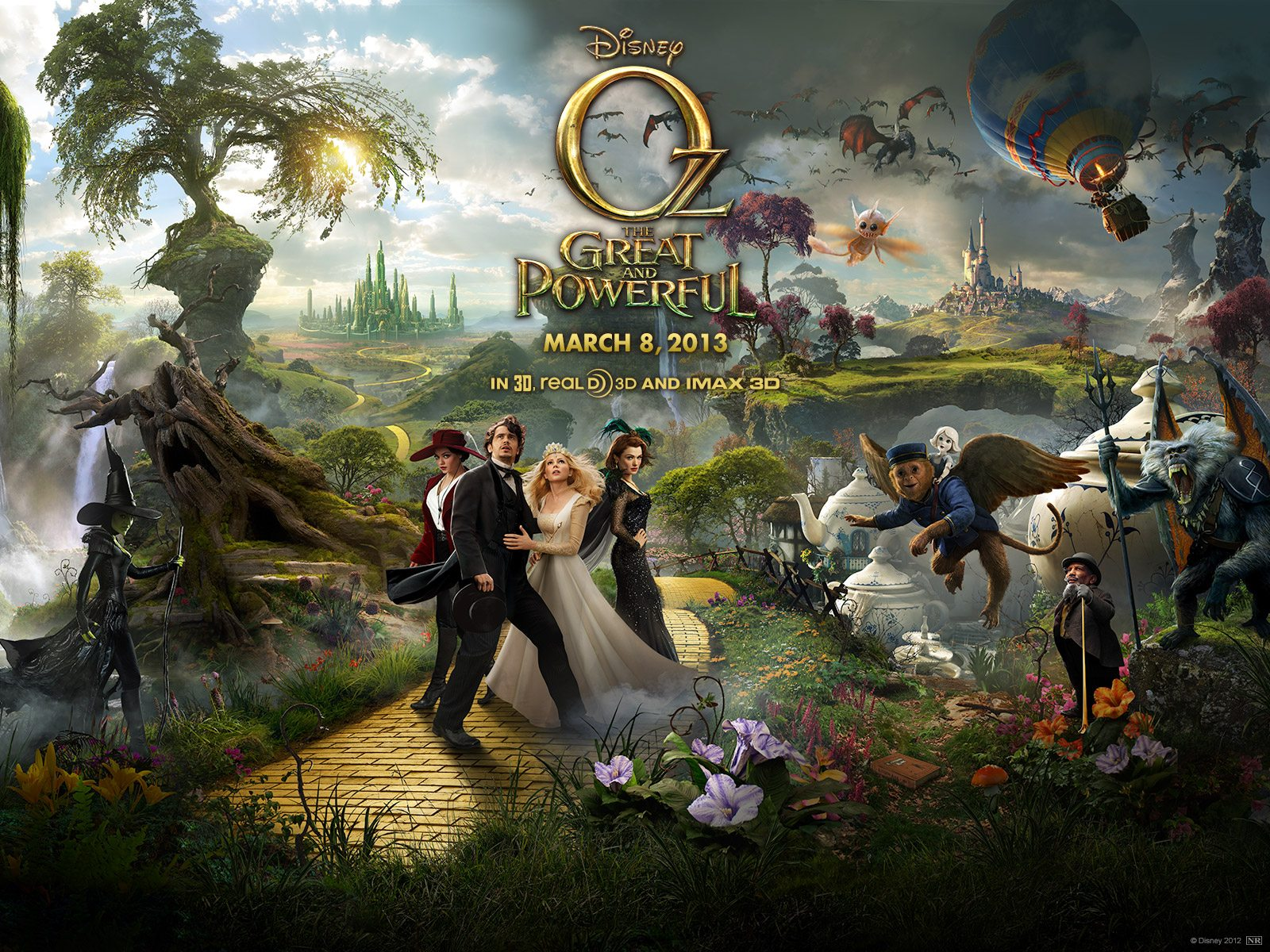 "A Parent's Movie Review of ""Oz the Great and Powerful"""