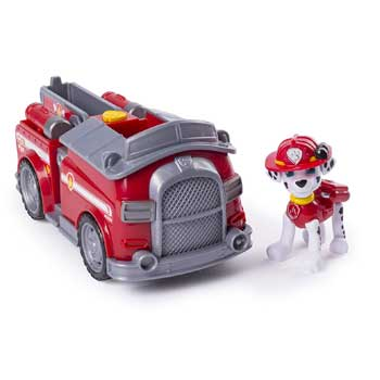 Paw Patrol Marshall's Transforming Fire Truck Amazon