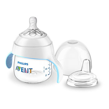 Avent Baby Bottle to First Sippy Cup