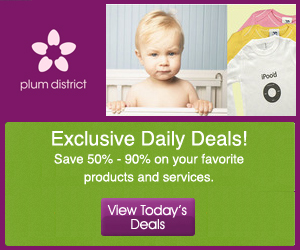 Plum District Offers Deep Discounts and Daily Deals for Moms and Families