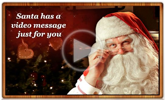 Get a Personalized Video Message from Santa (for Free!) from Portable North Pole