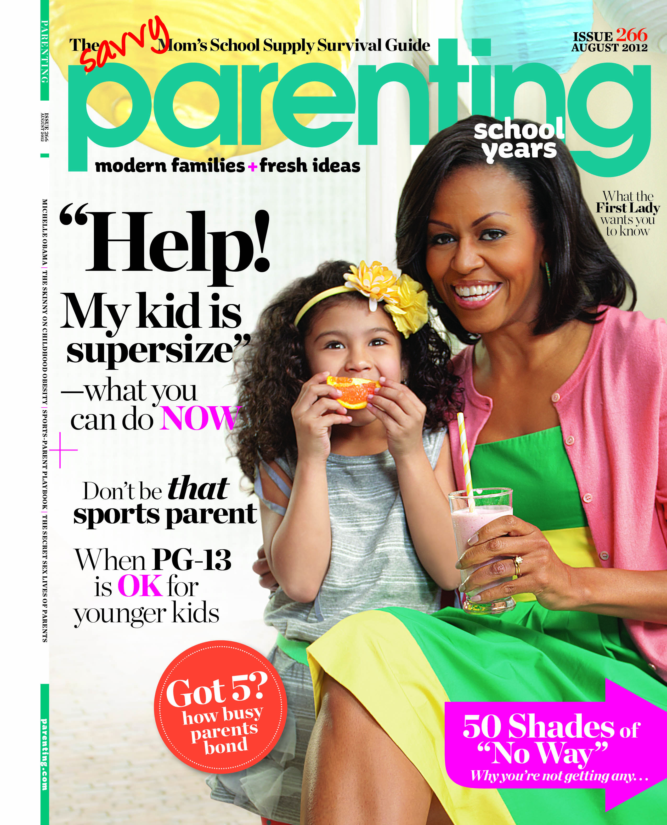 First Lady Michelle Obama on Raising Healthy Kids