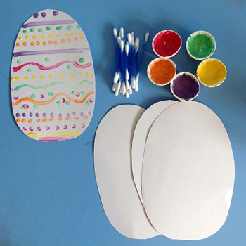 easter egg activities q tip eggs