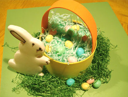 Recycled Easter Basket Craft