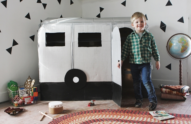 Thinking Outside the Box: 10 Ingenious Cardboard Forts