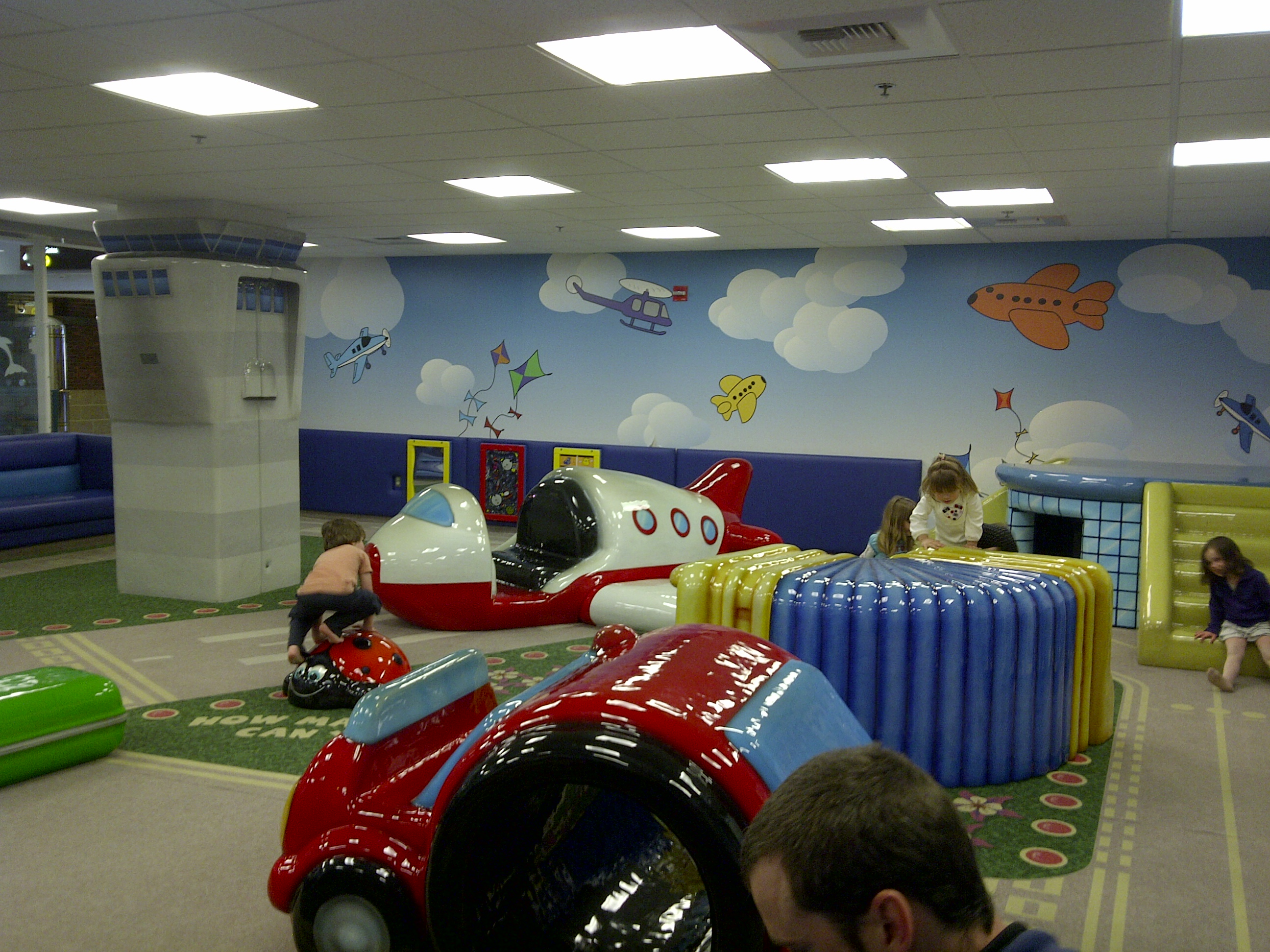 An Ode to the Sea-Tac Airport Children's Play Area
