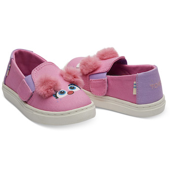 Sesame Street X TOMS Abby Face Tiny TOMS Luca Slip-Ons