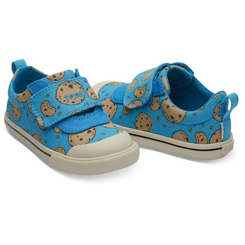 Sesame Street X TOMS Cookie Monster Tiny Doheny Sneakers