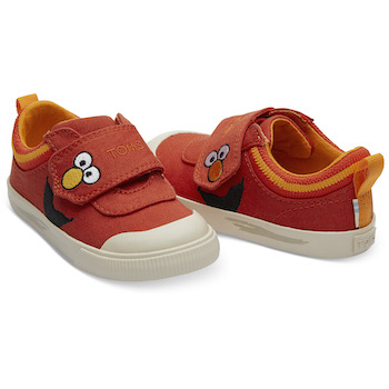 Sesame Street X TOMS Elmo Face Tiny Doheny Sneakers
