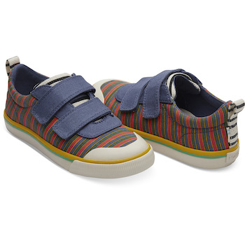 Sesame Street X TOMS Stripe Youth Doheny Sneakers