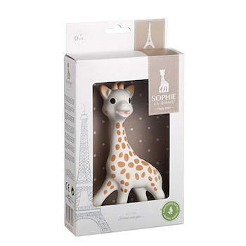Sophie The Giraffe Rubber Teether