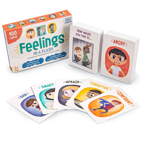 Feelings In a Flash: Emotional Intelligence Flashcard Game