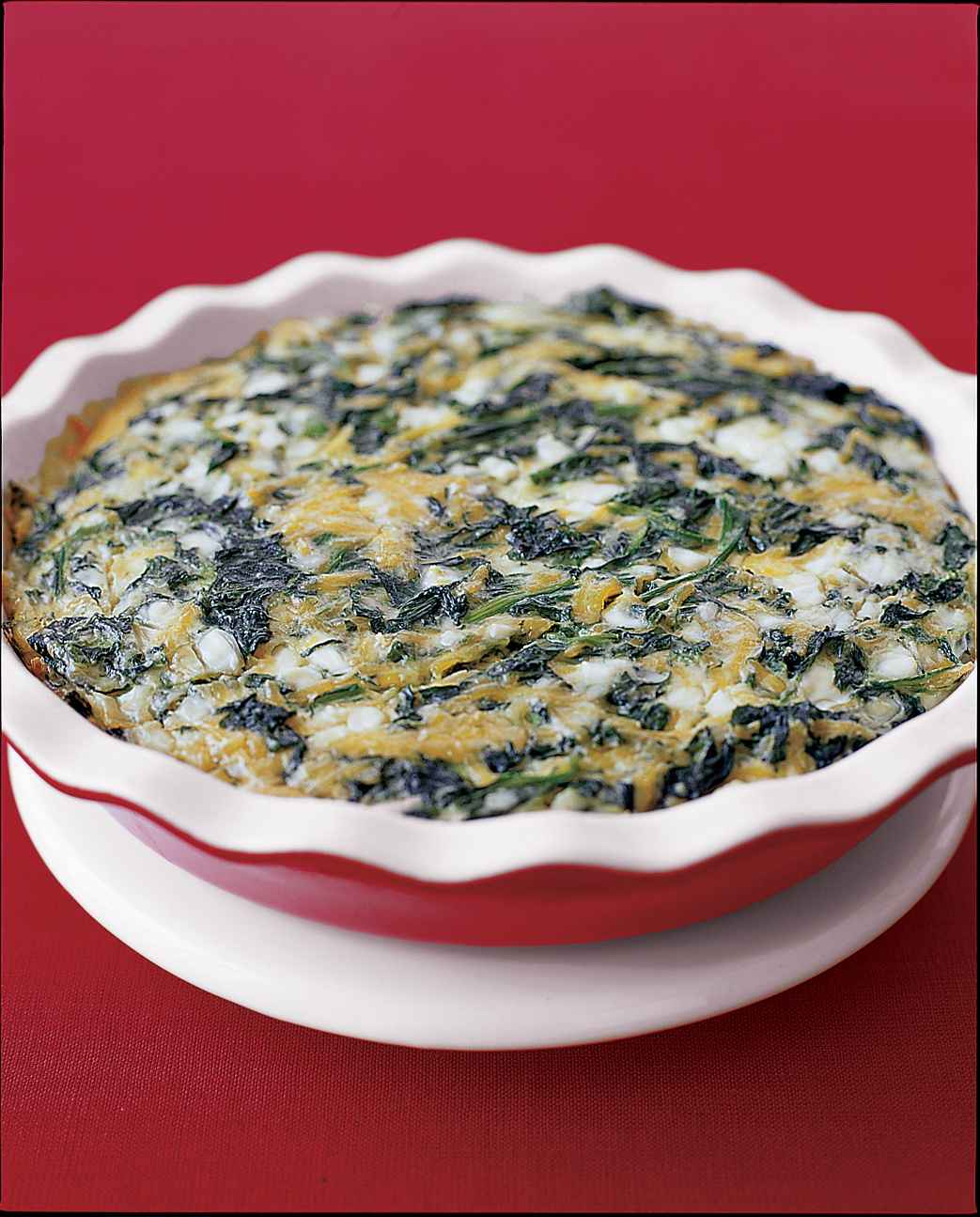 Spinach-and-Cheese Casserole