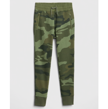 Kids Spring Fashion Trends Gap Camo Pull-On Joggers for Boys