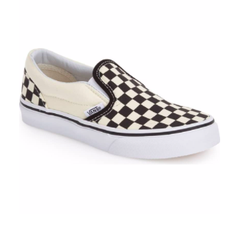 Kids Spring Fashion Trends Vans Classic Checker Slip on Shoes