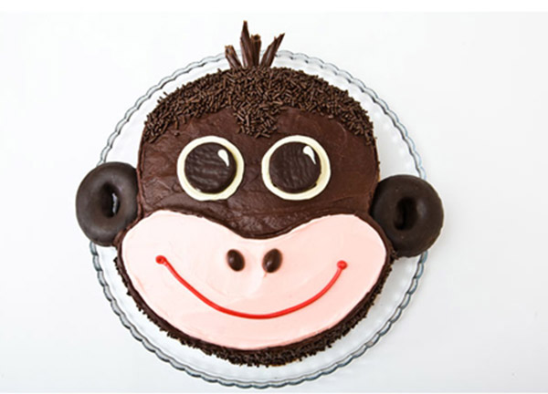 Monkey Birthday Cake Design - Parenting
