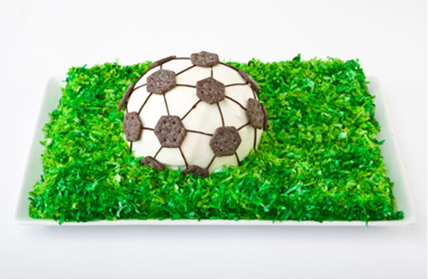Soccer Ball Birthday Cake Design