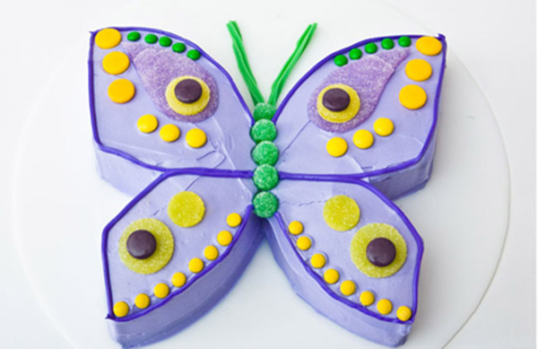 Outstanding Butterfly Birthday Cake Design Parenting Personalised Birthday Cards Petedlily Jamesorg