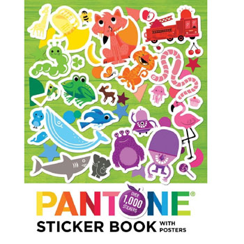 Pantone Sticker Books