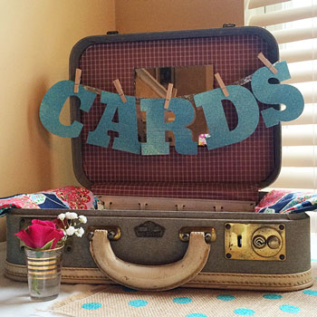 graduation party card holder