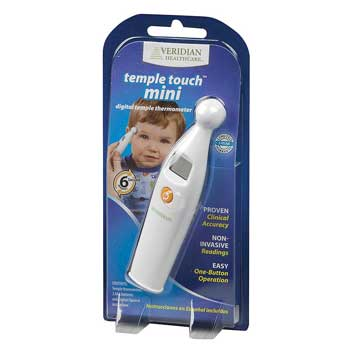 FSA Spend Veridian Healthcare Mini Temple Touch Thermometer