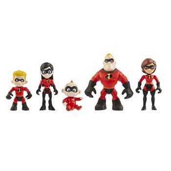 Incredibles Family 5-Pack Figures