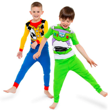 Toy Story 4 Boys Woody and Buzz Pajama Sets