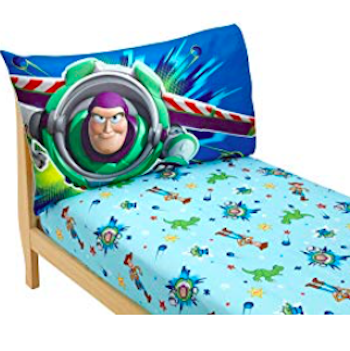 Toy Story 4 Buzz Lightyear Fitted Sheet and Pillowcase