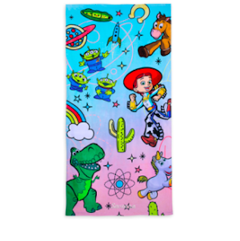 Toy Story 4 Jessie and Bullseye Beach Towel Personalized