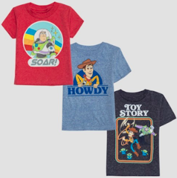 Toy Story 4 Woody and Buzz Toddler T-Shirts