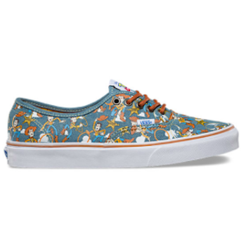 Toy Story 4 Vans Woody Print Shoe