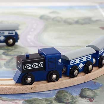Navy Tube Train Set
