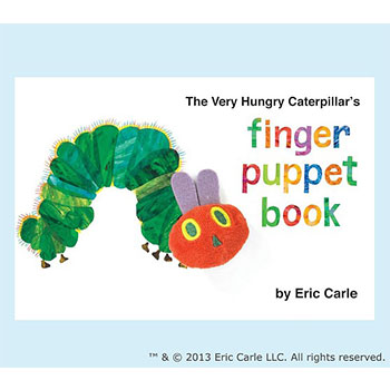 The Very Hungry Caterpillar™ Finger Puppet Book by Eric Carle