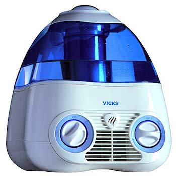 Vicks Starry Night Cool Moisture Humidifier with Light Up Star Display