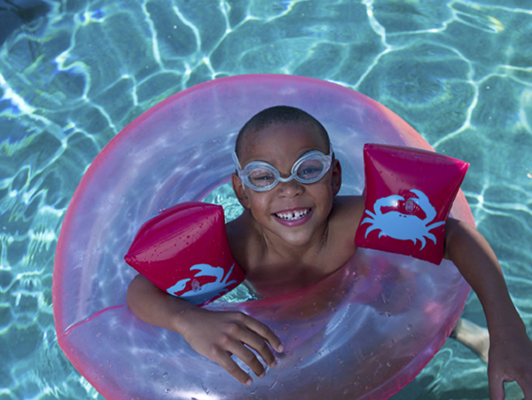 Swimming with Floaties and Other Water Safety Products